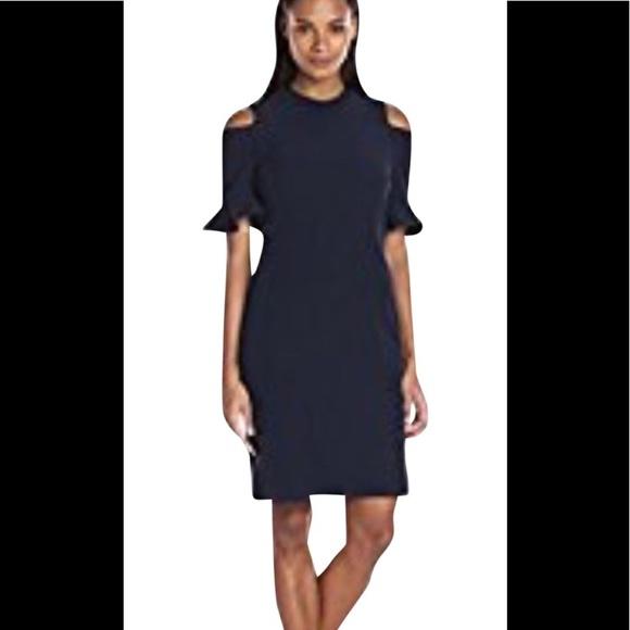 f84b3ab5fcd Cold shoulder dress